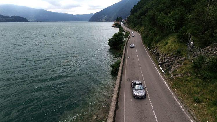 BMW i8 in teste